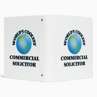 World's coolest Commercial Solicitor Vinyl Binder