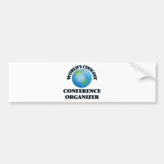 World's coolest Conference Organizer Bumper Sticker