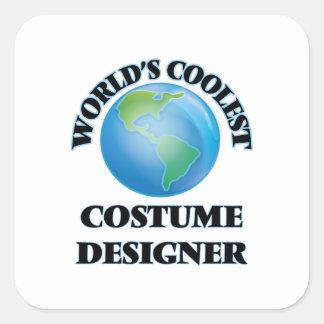 World's coolest Costume Designer Square Stickers