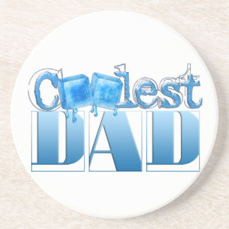 World's Coolest Dad Drink Coasters