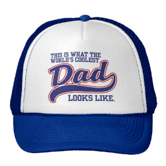 World's Coolest Dad Mesh Hat