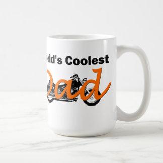 World's Coolest Dad Motorcycle Mug