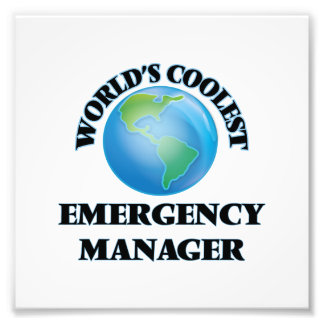 wORLD'S COOLEST eMERGENCY mANAGER Photo