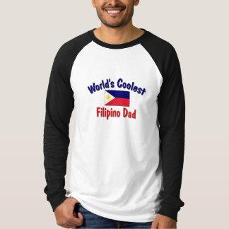 World's Coolest Filipino Dad T Shirt