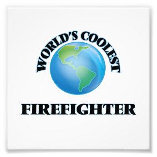 World's coolest Firefighter Photograph