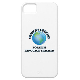 World's coolest Foreign Language Teacher iPhone 5 Cover