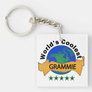 World's Coolest Grammie Keychain