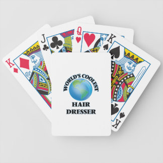 World's coolest Hair Dresser Bicycle Playing Cards