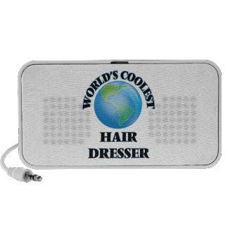 World's coolest Hair Dresser Portable Speaker
