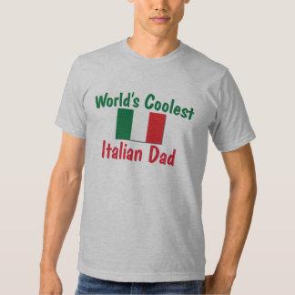 World's Coolest Italian Dad T Shirts