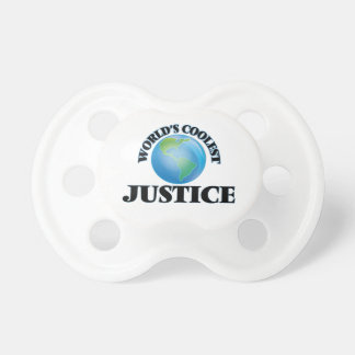 World's Coolest Justice BooginHead Pacifier