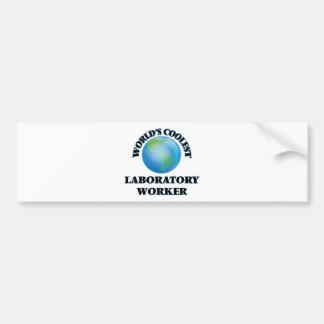 World's coolest Laboratory Worker Bumper Sticker