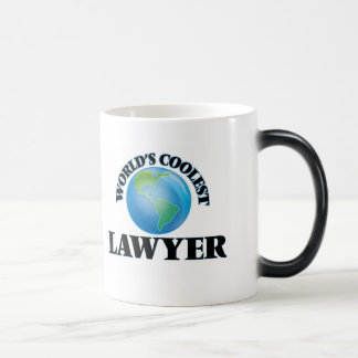 World's coolest Lawyer Magic Mug