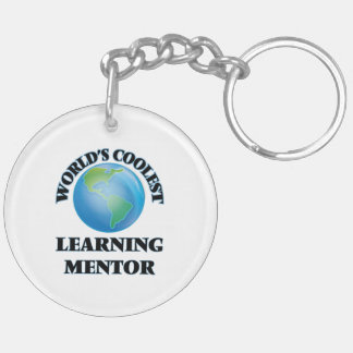 World's coolest Learning Mentor Acrylic Keychains