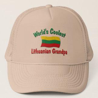 World's Coolest Lithuanian Grandpa Trucker Hat