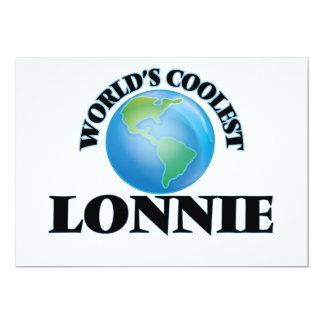 World's Coolest Lonnie 5x7 Paper Invitation Card