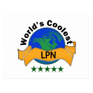 World's Coolest LPN Postcard