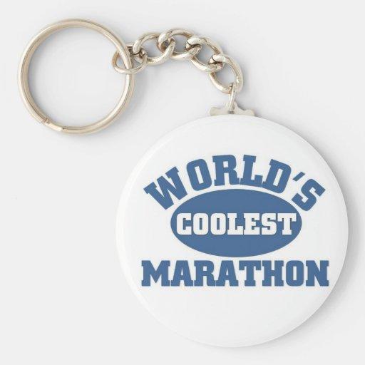 World's Coolest Marathon Key Chain