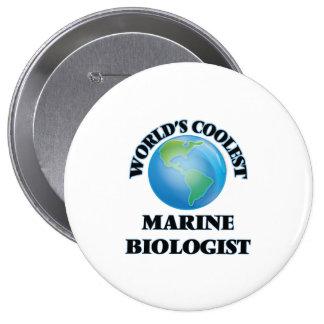 World's coolest Marine Biologist Pinback Buttons
