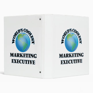 World's coolest Marketing Executive Binders