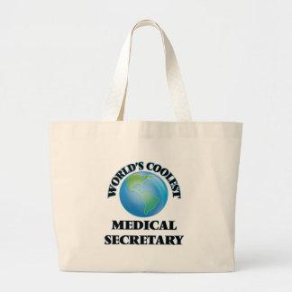 World's coolest Medical Secretary Canvas Bag