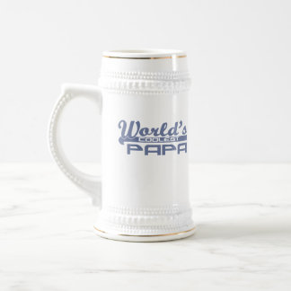 World's Coolest Papa 18 Oz Beer Stein