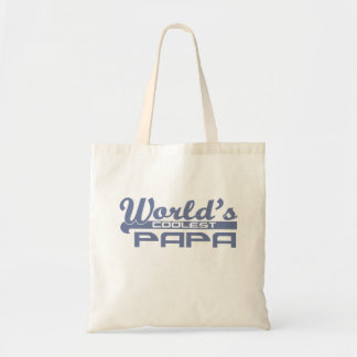 World's Coolest Papa Budget Tote Bag