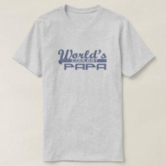 World's Coolest Papa T Shirts