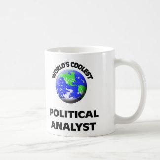 World's Coolest Political Analyst Coffee Mug