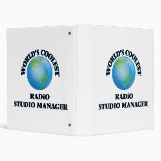 World's coolest Radio Studio Manager Binders