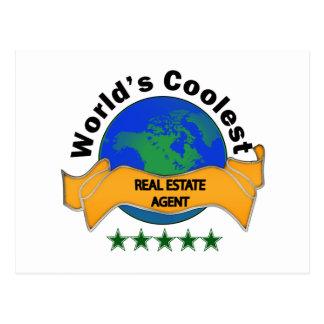 World's Coolest Real Estate Agent Postcard