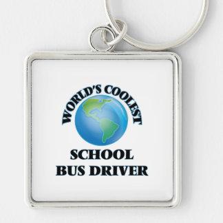 World's coolest School Bus Driver Keychain