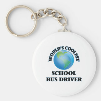 World's coolest School Bus Driver Key Chains
