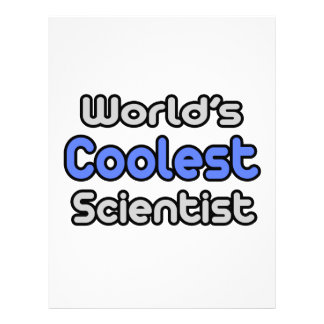 World's Coolest Scientist Letterhead