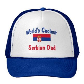 World's Coolest Serbian Dad Trucker Hats