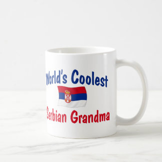 World's Coolest Serbian Grandma Coffee Mug