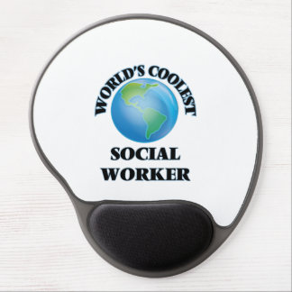 World's coolest Social Worker Gel Mouse Pad