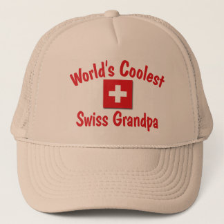 World's Coolest Swiss Grandpa Trucker Hat