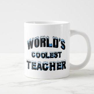 World's Coolest Teacher Large Coffee Mug