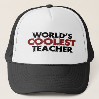 Worlds Coolest Teacher Trucker Hat