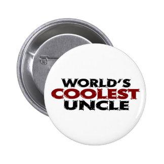 Worlds Coolest Uncle 2 Inch Round Button