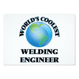 "World's coolest Welding Engineer 5"" X 7"" Invitation Card"