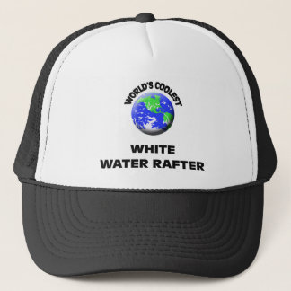 World's Coolest White Water Rafter Trucker Hat