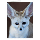 Worlds Cutest Fennec Fox Card