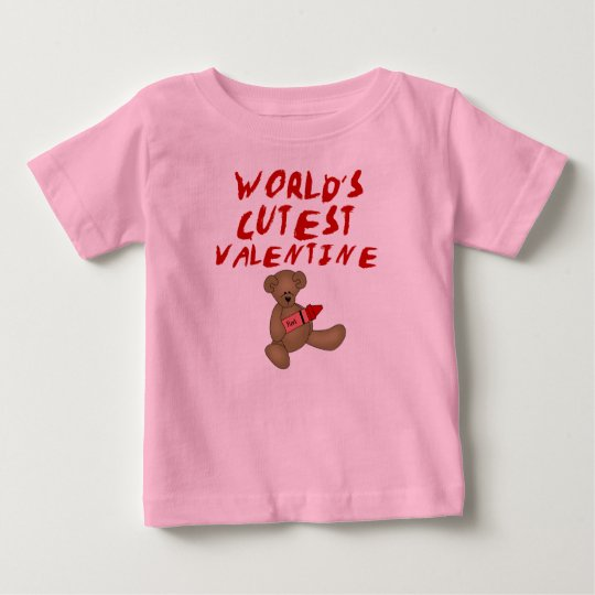 World's Cutest Valentine  Tshirts and Gifts
