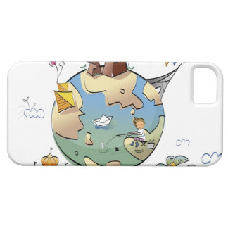 World's famous places around the globe iPhone 5 case