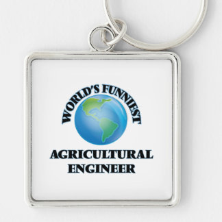 World's Funniest Agricultural Engineer Key Chain