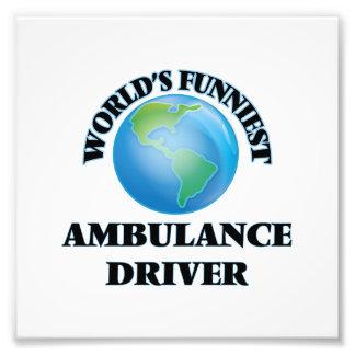 World's Funniest Ambulance Driver Photo