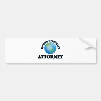 World's Funniest Attorney Bumper Stickers