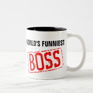 World's Funniest Boss Coffee Mug
